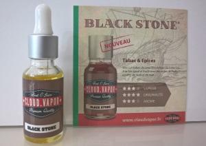 Plaquette Black Stone Cloud Vapor
